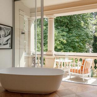 Eklektisches Badezimmer in Berlin