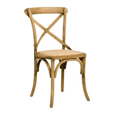 zentique parisienne cafe chair natural dining chairs