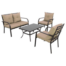 New Transitional Outdoor Lounge Sets by Homesquare
