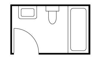 5x8ft Bathroom Layout Possibilities