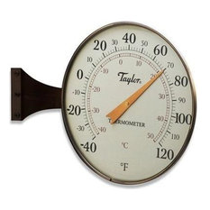 """Dial Thermometer Bronze, 8.5"""""""