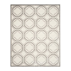 Safavieh Majorca Rug, Ivory and Light Gray, 10'x14'