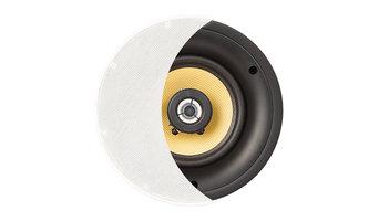 """OSD Audio 6.5"""" Ceiling Speaker Pair, Kevlar Woofer/Pivoting Tweeter - ICE650"""