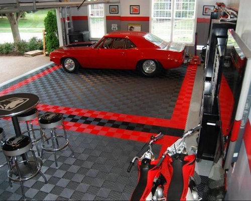 Garage Floor Tiles Amp Garage Flooring Ideas By Racedeck