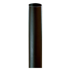 "Progress Accessory -5"" Bollard, Black Finish"