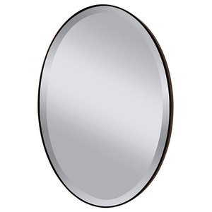 Johnson Johnson Mirror , Oil Rubbed Bronze with Clear Glass