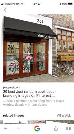 Beauty shop front design ideas