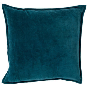 Surya Pillow Kit Poly Fiber Square Dragonfly 18  x18   Accent Pillow