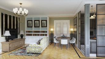 Дизайн интерьера квартиры в Казани