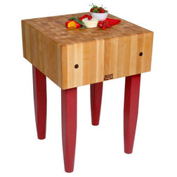 Trend Midcentury Kitchen Islands And Kitchen Carts by Rustic Edge