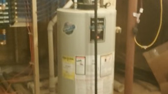 NC geothermal installation