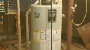 NC geothermal installation