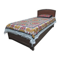 Mogul Interior - Indi Tapestry Throw Picnic Blanket Mandala Cotton Bedspread Beach Table - Blankets