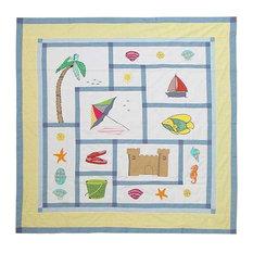 "Summer Fun Shower Curtain 72""X 72"""