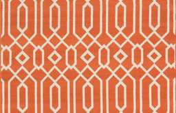 "Baja Indoor/Outdoor Rug, Orange, 6'7""x9'6"""