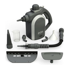 Handheld Pressurized Steam Cleaner With 9 Piece Accessory Set   Carpet U0026 Steam  Cleaners