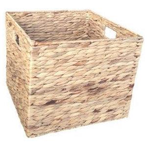 Water Hyacinth Square Storage Basket, Large