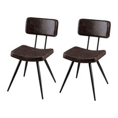 James Dining Chairs, Brown, Set of 2