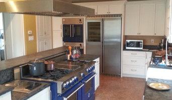 Chef Paul Marshall Kitchen-BlueStar pro range; customizable Prizer Hoods