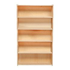 Contender Bookshelf 60-inchH - Assembled