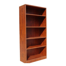 Boss Wood Bookcase In Cherry Finish N158-C