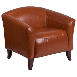 Flash Furniture Hercules Imperial Series Cognac Leather Chair