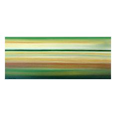 Original Painting Seascape Wall Art by Thomas John, Extra Large, 24x60