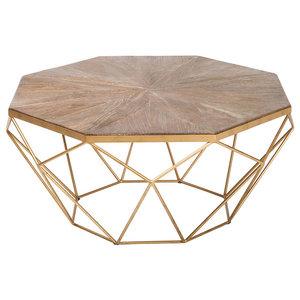 Kosas Home Chester Round Coffee Table By Kosas Home Houzz