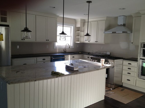 White Subway Tile Or Carrara Marble Backsplash Other Suggestions Thank You