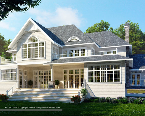 EXTERIOR DESIGN IDEAS FOR YOUR DREAM HOME | 3D RENDERING BY HS3D ...