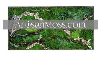 Artisan Moss, Designer Erin Kinsey Art
