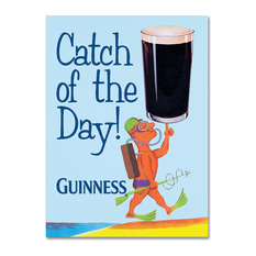 "Guinness Brewery 'Catch Of The Day' Canvas Art, 14""x19"""