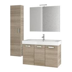 """40"""" Larch Canapa Bathroom Vanity Set"""