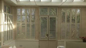 Orangery in Bath - beautiful handmade New England shutters