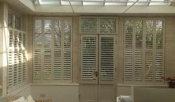 Orangery in Bath - beautiful handmade New England shutters