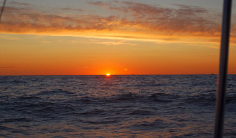 Sunrise - heading offshore for a day of fishing