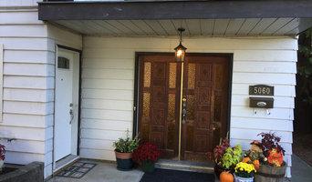 Front door before updated
