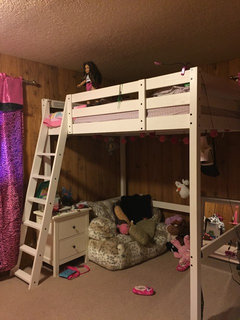 Ikea Stora Loft Bed With 8 Ceiling
