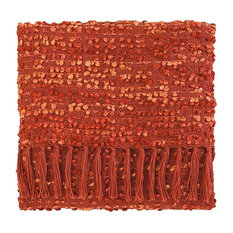Park Acrylic Hand Woven Throw Blanket, Newport Red