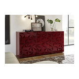 Prisma (red) 3 door sideboard