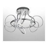 Six-bulb LED ceiling lamp Olympus
