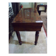 Antique bagatelle table on stand