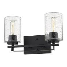 "Acclaim Lighting IN41101 Orella 2 Light 15""W Bathroom Vanity - Black"