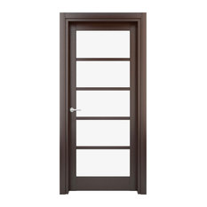 interior door solid wood laminated wenge w17g 23 x 80
