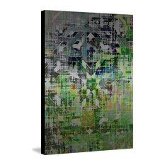 """""""Kif in Ketama"""" Painting Print on Metal, 24""""x36"""""""