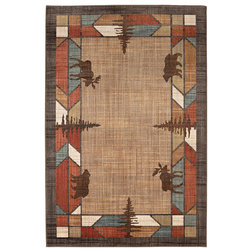 Rustic Area Rugs by Mohawk Home