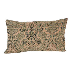 Palace Verde Kidney 90/10 Duck Insert Pillow With Cover, 12x21