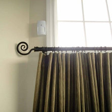 Curtain Rod Finials Ideas An Ideabook By Kavan Jackman