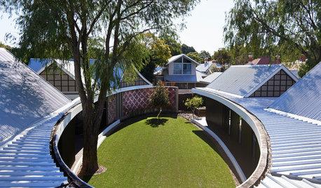 Houzz Австралия: Дом с овальным двором