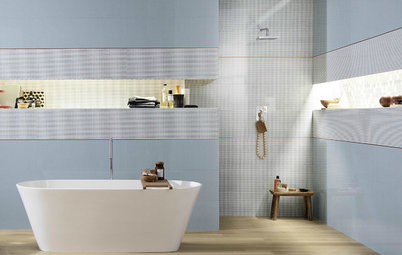 9 Bathroom Trends for 2019: Tile Styles, Colours and Materials
